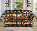 Palm Tree Sunset Pattern Sofa Couch Protector Cover
