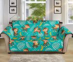 Monkey Happy With Banana Pattern Sofa Couch Protector Cover