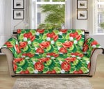 Vegan Salad Themed Pattern Sofa Couch Protector Cover