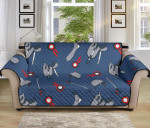 Equestrian Equipment Pattern Sofa Couch Protector Cover