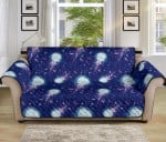 Jellyfish Cute Ocean Pattern Sofa Couch Protector Cover