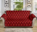 Dragon Red Skin Pattern Sofa Couch Protector Cover