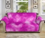 Tie Dye Pink Pattern Sofa Couch Protector Cover