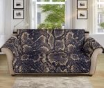 Snake Skin Pattern Sofa Couch Protector Cover