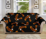 Multi Eagles Pattern Sofa Couch Protector Cover