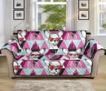 Chihuahua Cute Triangle Pattern Sofa Couch Protector Cover