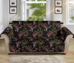 Western Design Flower Pattern Sofa Couch Protector Cover