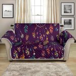 Dream Catcher Boho Design Pattern Sofa Couch Protector Cover