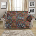 Calendar Aztec Ancient Pattern Sofa Couch Protector Cover