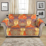 Colorful Buddha Indian Pattern Sofa Couch Protector Cover