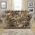 Hand Drawn Nautical Tattoo Design Pattern Sofa Couch Protector Cover