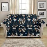 Dream Catcher Boho Floral Pattern Sofa Couch Protector Cover