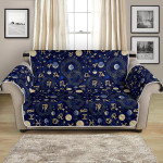 Multi Zodiac Themed Design Pattern Sofa Couch Protector Cover