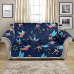 Fairy Angel With Flower Pattern Sofa Couch Protector Cover