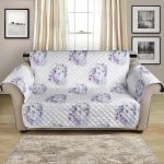 Hoho Fairy Wolf With Flower Pattern Sofa Couch Protector Cover