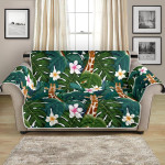 Safari Giraffe Jungle Design Pattern Sofa Couch Protector Cover