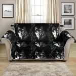 Night Wolf And Black Dream Catcher Pattern Sofa Couch Protector Cover