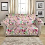 Unicorn Princess With Rose Pattern Sofa Couch Protector Cover