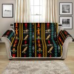 Eye Of Horus Egypt Pattern Sofa Couch Protector Cover