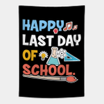 Happy Last Day of School Tapestry Wall Hanging For Home Decor