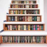 Book Pattern Stair Stickers Stair Decals Home Decor