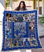Kentucky Wildcats Quilt Blanket