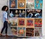 Little Feat Compilations Albums Quilt Blanket For Fans Ver 14