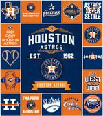 Mlb – Houston Astros Quilt Blanket