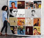 Elvis Presley Albums Quilt Blanket 02