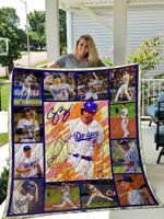 Corey Seager Quilt Blanket 01