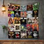 The Black Eyed Peas Album Covers Quilt Blanket