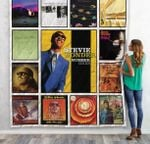 Stevie Wonder Best Albums Quilt Blanket 01