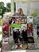 Green Day Poster Quilt Blanket Ver 2