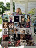 Beyoncé Albums Cover Poster Quilt Blanket Ver 2
