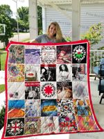 Red Hot Chili Peppers Albums Cover Poster Quilt Blanket