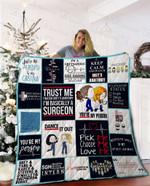 Grey's Anatomy Quilt Blanket