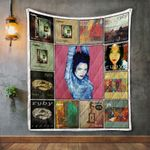Ruby Album Covers Quilt Blanket