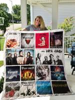 Papa Roach Albums Quilt Blanket 02