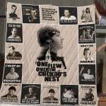 One Flew Over The Cuckoo's Nest T-Shirt Quilt Blanket