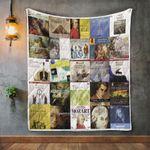 Wolfgang Amadeus Mozart Album Covers Quilt Blanket
