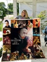 The Phantom Of The Opera Poster Quilt Blanket