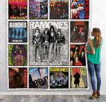 Ramones Albums Quilt Blanket