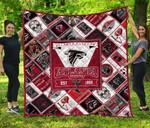 Atlanta Falcons Quilt Blanket
