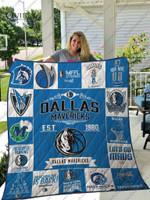 Dallas Mavericks Quilt Blanket Ver 17
