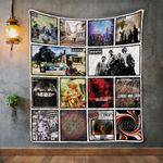Oasis Album Covers Quilt Blanket