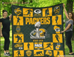 Green Bay Packers Quilt Blanket