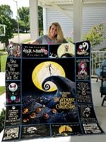 The Nightmare Before Christmas Quilt Blanket