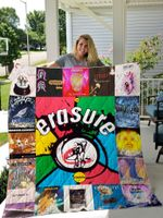 Erasure Quilt Blanket For Fans Ver 17