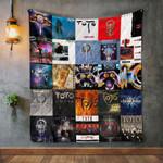 Toto Album Covers Quilt Blanket