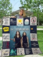 Gilmore Girl 20th Anniversary Quilt Blanket For Fans Ver 17